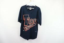 Vintage 90s Jostens Mens Medium Spell Out Detroit Tigers MLB Baseball Je... - $34.60