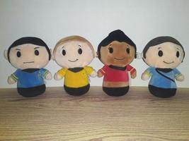 "EUC Hallmark 4"" Itty Bittys Star Trek Anniversary Set Kirk Spock Uhura M... - $23.99"