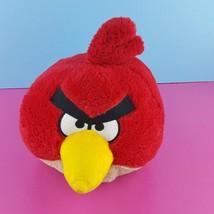 "Angry Birds Red Plush 6"" 2010 Commonwealth Stuffed Animal  - $13.86"