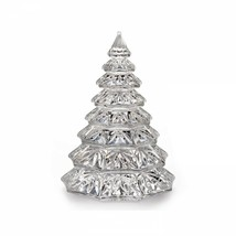"""Waterford Christmas Tree Sculpture Crystal Clear 6.5"""" - $138.59"""