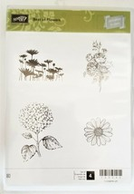 """NEW!  Stampin' Up """"Best of Flowers"""" Stamp Set #133342"""