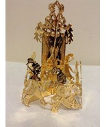 "Danbury Mint - 1990 Gold Christmas Ornament -  ""Soldiers' Parade"" (B9) - $12.95"