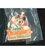NEW 1999 Disneyland Mickey Mouse Annual Passholders Straight Back Pin Bu... - $12.08