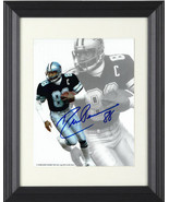 Drew Pearson signed Dallas Cowboys 8x10 Photo Custom Framing #88- JSA Ho... - $89.95