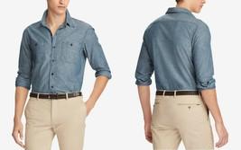 Polo Ralph Lauren Men's Classic Fit Chambray Workshirt, Size XXL, MSRP $125 - $53.28