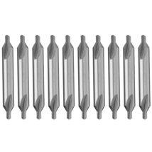 10Pcs/Set 60 Degree HSS Combined Center Drill Countersink Bit Lathe Tool... - $11.26