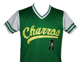 Kenny Powers #55 Charros Eastbound And Down Tv Baseball Jersey Green Any Size image 4