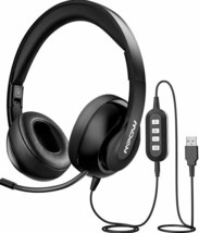 USB Headset/ 3.5mm Computer Headset with Microphone
