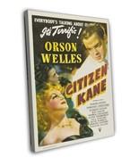 Citizen Kane 1941 Vintage Movie FRAMED CANVAS Print 2 - $19.95