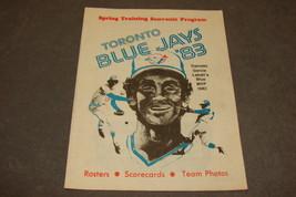 Toronto Blue Jays 1983 Spring Training Baseball Souvenir Program - $12.00