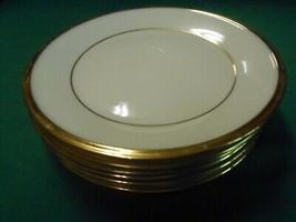 "Beuatiful Lenox Dimension Collection ""Eternal"" 6 BREAD-SALAD-DESSERT Plates 6.25"" - $42.16"