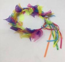 FAIRY Rainbow Halo Ribbon Wand Accessory Set Fantasy Headpiece Crown Wre... - $6.92