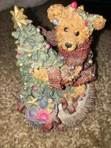 Boyds Bears Christmas Elliot & The Tree...#2241 —332 - $34.49