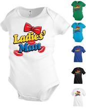 Ladies Man Kiss Lipstick Funny Kid T shirt Youth tee Baby Toddler bodysu... - $12.99