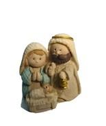 """1.5""""Mini Mary Joseph and Baby Jesus Holy Family Nativity Scene Christmas... - $9.78"""