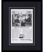 1967 British Railways Framed 11x14 ORIGINAL Vintage Advertisement - $41.71
