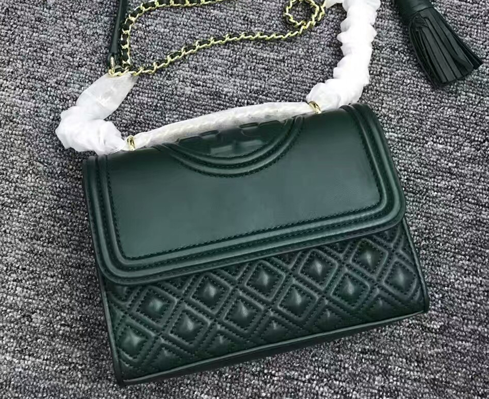 e4abbfd0ecc1 Mmexport1481901840253. Mmexport1481901840253. Previous. Authentic Green  Tory Burch Fleming Small Convertible Shoulder Bag