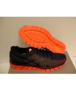 Mens Asics shoes gel quantum 360 cm island blue hot orange size 12 us - $138.55