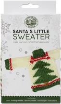 Lion Brand Santa's Little Sweaters Yarn Kit-Christmas Tree - $26.93