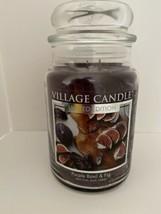Village Candle Purple Basil & Fig Large Candle Limited Edition 26 Fl Oz  - $39.55