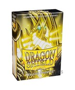 Dragon Shield Japanese Size Matte Yellow 60ct Card Protector Sleeves ATM... - $8.99