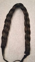 3 strand synthetic  braided headband adjustable - $185.91