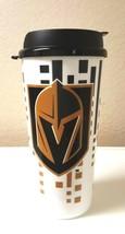 NHL TRAVEL TUMBLER MUG CUP LAS VEGAS GOLDEN KNIGHTS 32 OUNCE PLASTIC W/ ... - $8.99
