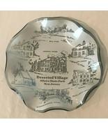 Allaire State Park Vintage Glass Souvenir Wall Plate Deserted Village Ne... - $24.99