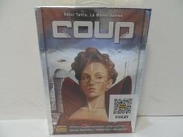 Coup The Dystopian Universe Indie Boards & Cards Game NEW - $9.73