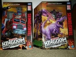 Transformers Kingdom For Cybertron Optimus Prime/Megatron Pair - $123.75