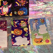 Vintage Lisa Frank FULL Sticker Sheet S199 Plus Halloween Mods (not Full) BEARS image 4