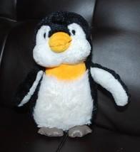 "Ganz Lil'Kinz Penguin HS132 Black White Plush Toy Stuffed Animal 7"" NO TAGS - $14.80"