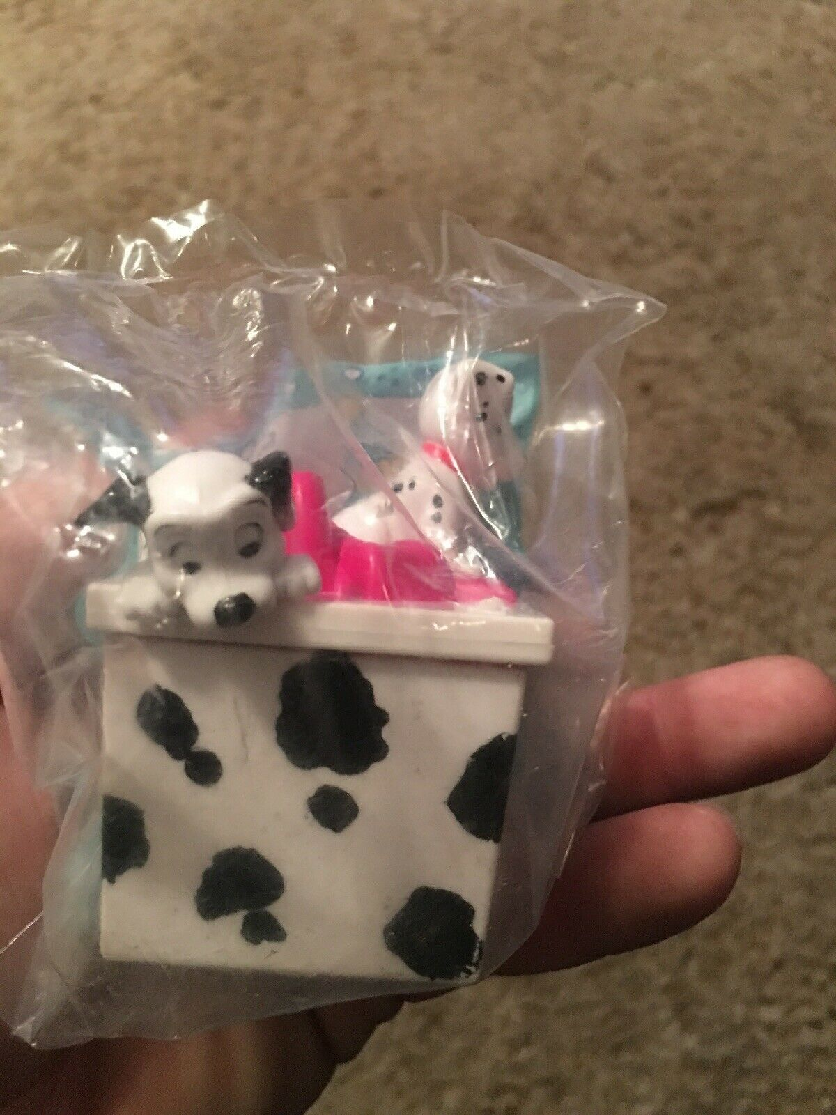 1994 MCDONALDS 101 DALMATIANS HAPPY BIRTHDAY HAPPY MEAL TOY SEALED #9