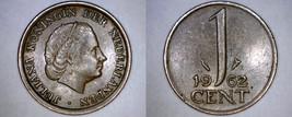 1962 Netherlands 1 Cent World Coin - $3.99