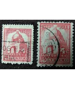 Two 1934 Mexico 4 Centavos Stamps  - $0.99