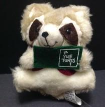 Hallmark Raccoon Tunes Plush Ornament in Original Box Very Nice Conditio... - $13.85