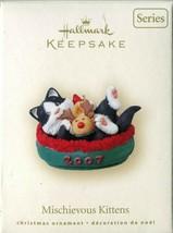 Hallmark Mischievous Kittens 2007 - 9th In The Series Cat In A Slipper Ornament - $14.84