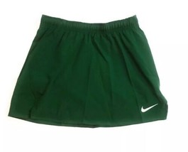 NIKE LACROSSE Skorts SKIRT W SHORTS Dri-Fit 56323 Size MED Green Girls - $25.19