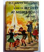1 Vintage The Happy Hollisters and the Mystery at Missile Town Mystery B... - $10.99