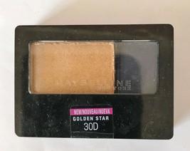 Maybelline New York Expert Wear Eyeshadow Duo .08 Oz Golden Star 30D - $4.84