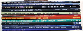 Lot 12 Star Trek OS/TNG Graphic Novel FEFP Who Killed Kirk Blood Will Te... - $72.75