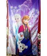 "Disney FROZEN ELSA PRINCESS ANNA OLAF Sleeping Bag, 29"" x 52"" - $24.00"