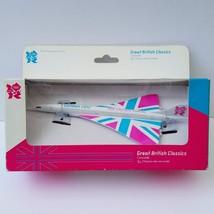 Concorde -Corgi Diecast Concorde Model - London 2012 Olympic Games Liver... - $79.10