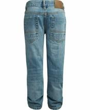 Tommy Hilfiger Nwt Big Boys Rebel Jeans Skinny Fit Größe 8 Distressed KD853 image 2
