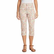Gloria Vanderbilt Women's Gen Icon Amanda Capri Jeans 10 PETITE Bejewele... - $27.71