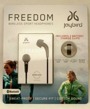 NEW-Jaybird Freedom Wireless In-Ear Sport Headphones-Black-Sweatproof-Bl... - $65.45