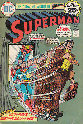1975 DC Comics Superman #283