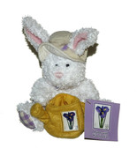USPS Bunny Rabbit w/Watering Can Hat Plush NWT 2006 6 inch Stuffed Anima... - $24.70