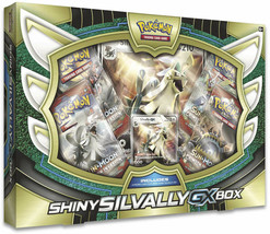Shiny Silvally GX Collection Box Sealed Pokemon Trading Card Game TCG 4 ... - $23.99