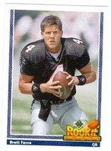 Brett Favre football card (Atlanta Falcons) Mint Condition rookie card 1... - $4.99